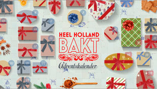 Heel Holland Bakt-adventskalender